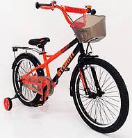 Велосипед 20-STORM оранжевый. Сборка 85%