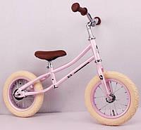 """Купить Велосипед-велобег 12 """"NL-01"""" трансформер розовый, фото 1"""