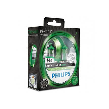 Philips ColorVision H4 Green, фото 2