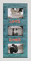 Фоторамка коллаж Love Home 28х55 см КОД: M3-157