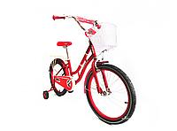 Детский двухколесный велосипед Crosser Eternal 18 дюймов красный, фото 1