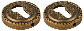 Накладка CYLINDER Armadillo (Армаділло) ET Антична бронза 2 шт.