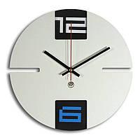 Настенные часы Декор Карпаты Loft Серый (UGT006A) КОД: UGT006A