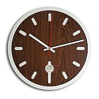 Настенные часы Декор Карпаты Loft Темно-коричневый  КОД: UGT008B