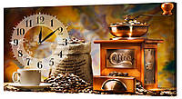 Настенные часы Декор Карпаты 53х29 Кофе  КОД: 53х29-0134