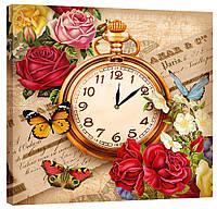 Настенные часы Декор Карпаты 53х53  КОД: 53х53-D5