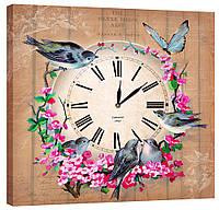Настенные часы Декор Карпаты 53х53  КОД: 53х53-D3