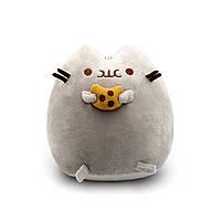 Мягкая игрушка, Пушин кэт, Pusheen cat с печеньем, Серый (102-gv) КОД: 102-gv