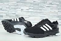 Кроссовки мужские в стиле Adidas код товара DD-61030. Черные