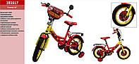 Детский двухколесный велосипед колеса 16 дюймов 181617 Красный