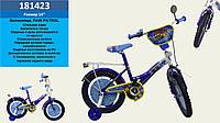 Детский двухколесный велосипед колеса 14 дюймов 181423 Синий