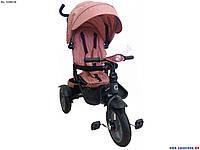 Детский трехколесный велосипед Crosser T-400 NEO ECO AIR персиковый, фото 1