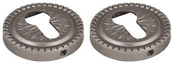 Накладка CYLINDER Armadillo (Армаділло) ET Антична бронза 2 шт. срібло