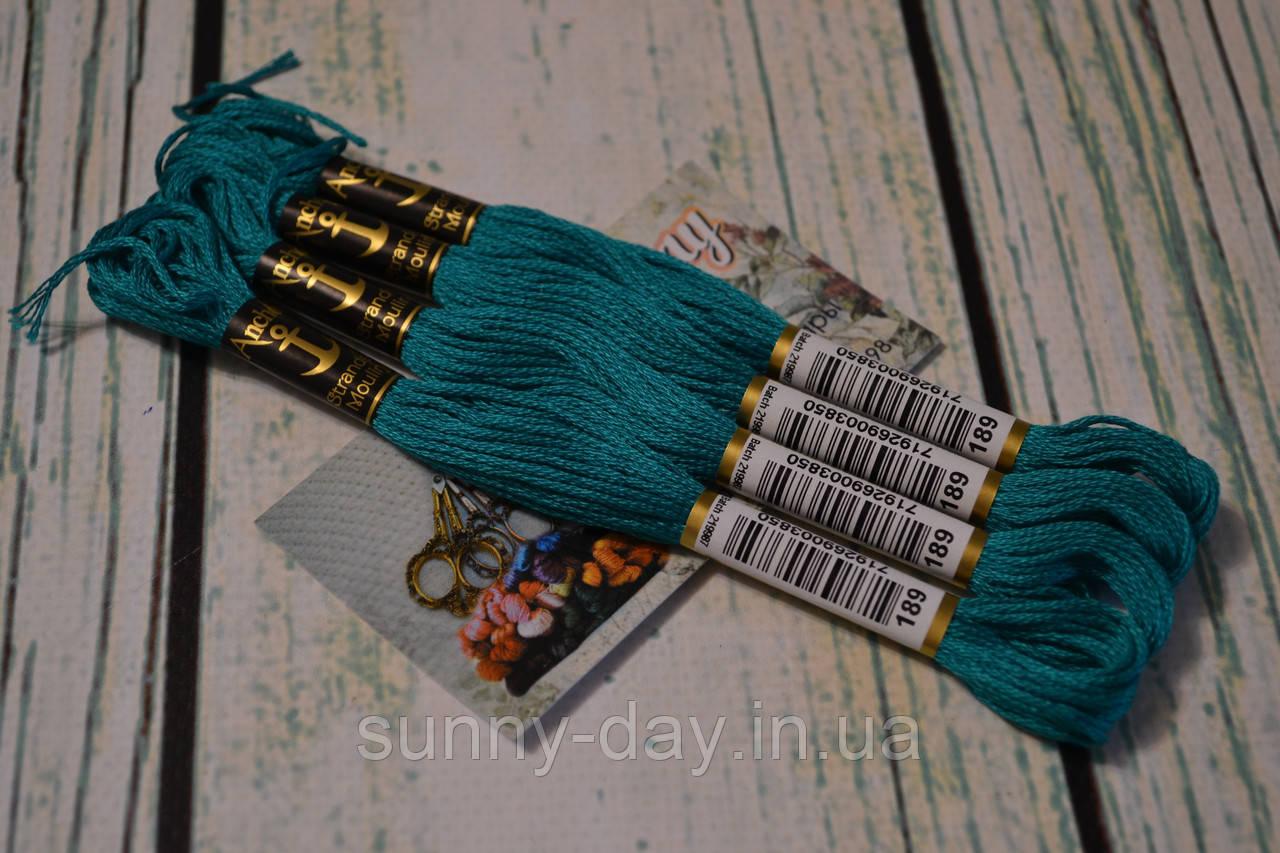Муліне Anchor, колір 0189