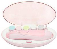 Набор для маникюра Baby's Manicure Set 6 насадок Розовый  КОД: hub_pxVR49543
