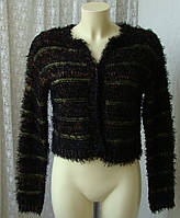 Кофта женская нарядная пушистая травка бренд Miss Selfridge р.42-48, фото 1