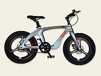 Детский спортивный двухколесный велосипед 20 дюймов M20303 рама из магниевого сплава голубой