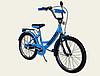 Детский двухколесный велосипед колеса 20 дюймов 192013 Like2bike RALLY голубой