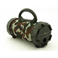 Портативная bluetooth MP3 колонка SPS F18 Камуфляж