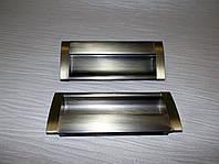 Врезная ручка UA08 - 96мм /AB на раздвижную дверь