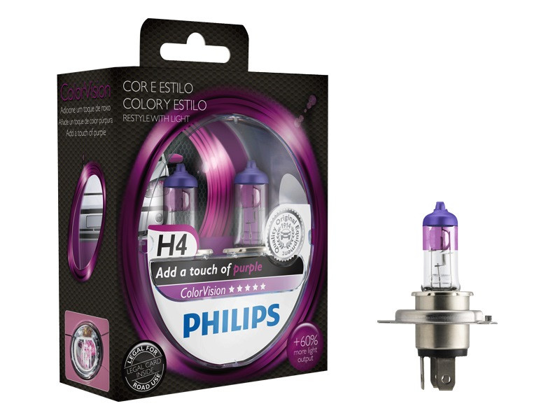 Philips ColorVision H4 Purple