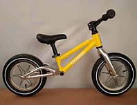 Детский Беговел B-15 Алюминиевая рама сборка 85% желтый