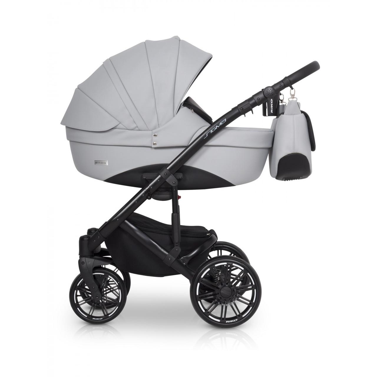 Детская универсальная коляска 2 в 1 Riko Sigma 02 Stone