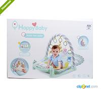 Коврик для младенца с пианино, игрушки 5 штук 698-56 ***