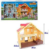 Загородный домик Happy family 012-03 со зверятами