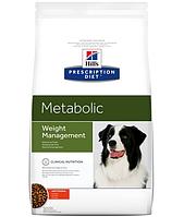 Сухой корм Hills (Хилс) Prescription Diet Canine Metabolic для собак для снижения веса 12 кг
