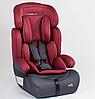 Детское автокресло JOY 76838 универсальное, группа 1/2/3, вес ребенка от 9-36 кг, красное
