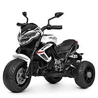 Детский мотоцикл Bambi M 4152EL-1 белый, фото 1