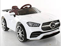 Детский электромобиль XM825 EVA White , Mercedes, белый