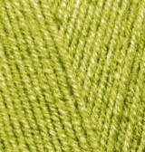Пряжа для вязания Лана голд файн  193 фисташка
