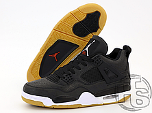 Мужские кроссовки Air Jordan 4 Retro Laser Black White Gum CI1184-001, фото 3
