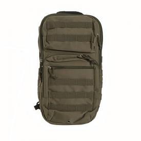 Рюкзак однолямочный Assault Mil-Tec 29 л олива
