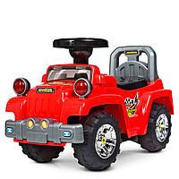 Детская каталка-толокар Bambi HZ 553-3 Джип красный