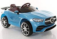Детский электромобиль T-7650 EVA Blue, Mercedes, синий