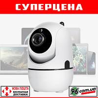 Беспроводная WIFI IP камера 720p HD 1MP с датчиком движения, автотрекингом и ночным режимом!