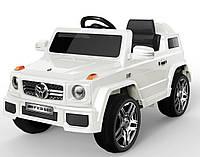 Электромобиль FL1058 EVA White джип на Bluetooth 2.4G Р/У 2*6V4.5AH мотор 2*25W с MP3 117*69*53 /1/