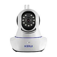 Беспроводная IP-камера Kerui KR-IPCZ05 Plus Белый (HHFGBVFDYUI76JK) КОД: HHFGBVFDYUI76JK