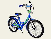 Детский двухколесный велосипед колеса 20 дюймов 192015 Like2bike RALLY синий