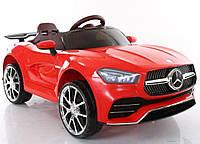 Детский электромобиль T-7650 EVA RED, Mercedes, красный