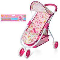 Детская прогулочная коляска для кукол 62858