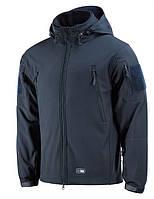 M-Tac куртка Soft Shell с подстежкой Dark Navy Blue XL (MTC-SJWL-DNB-XL)