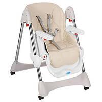 Детский складной стульчик для кормления Bambi  M 3216-13 бежевый, фото 1