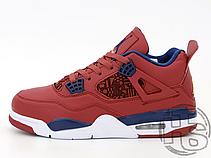 Чоловічі кросівки Air Jordan 4 Retro Fiba (2019) Red CI1184-617, фото 3
