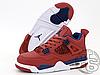 Чоловічі кросівки Air Jordan 4 Retro Fiba (2019) Red CI1184-617, фото 2
