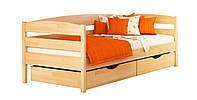 Кровать из натурального дерева (бук) Нота Плюс (цвет 102)