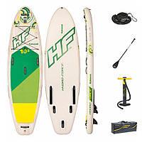 Надувная доска для плавания серфинга с веслом SUP-борд BESTWAY 65308
